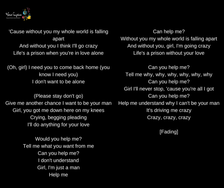 Usher – Can U Help Me Lyrics   Genius Lyrics